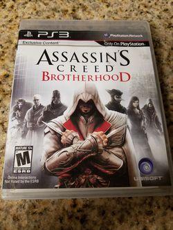 PS3 Assassin's Creed BrotherHood Thumbnail