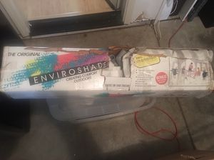"Large 13 foot sun shade canopy ""The Original Enviroshade"" for Sale in Elk  Grove, CA - OfferUp"