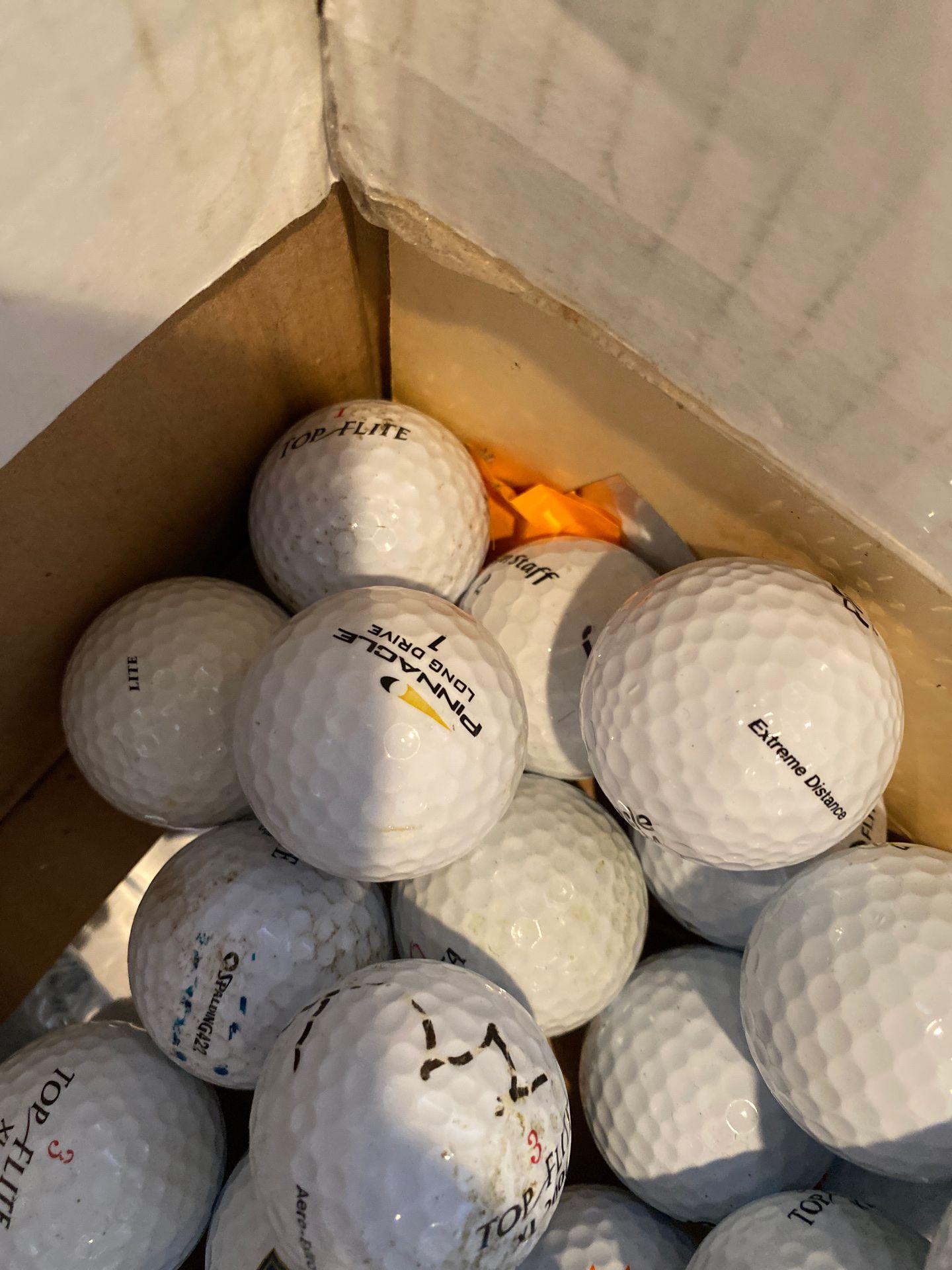 85 golf balls