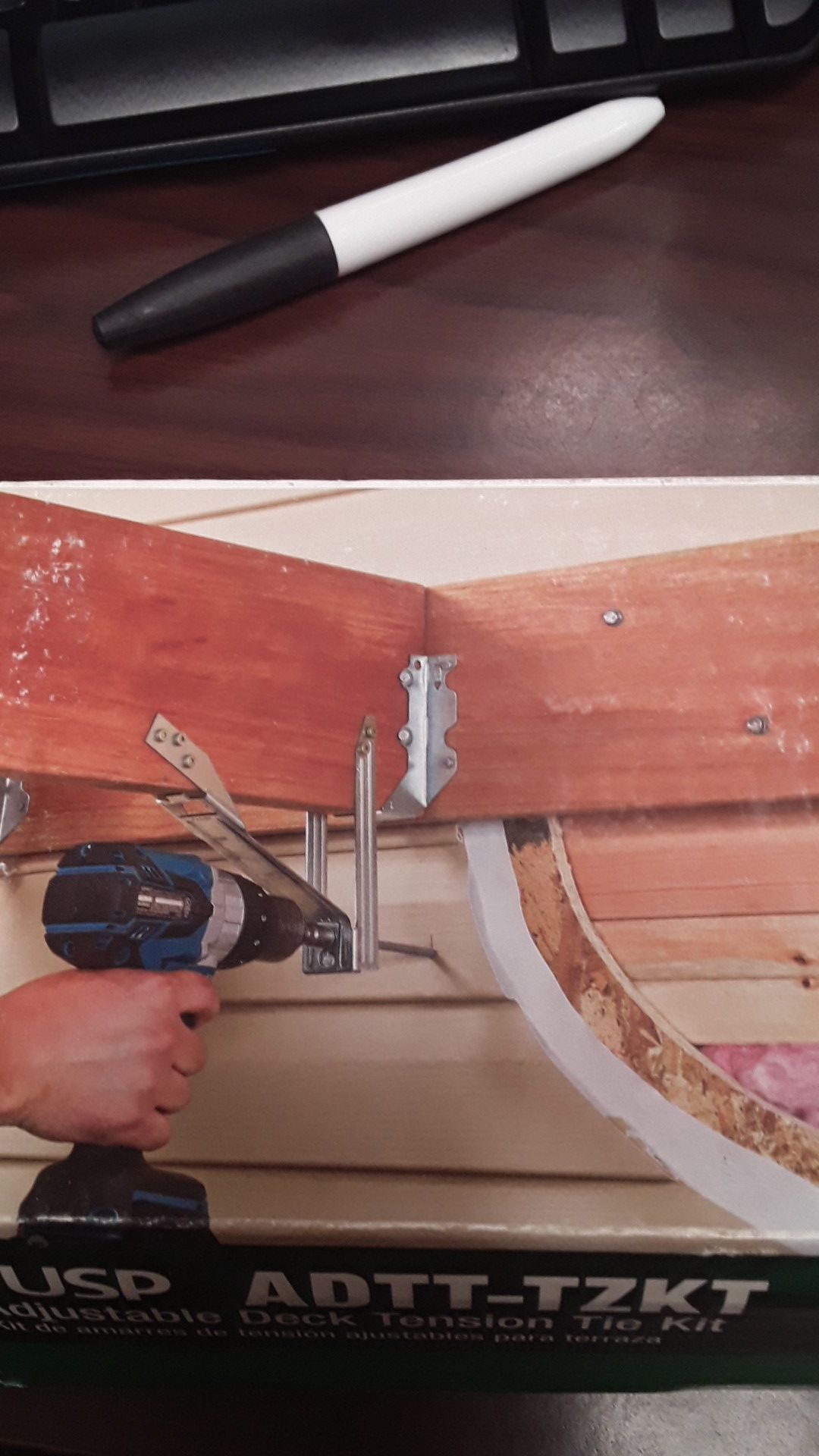 Adjustable Deck Tension Tie Kit
