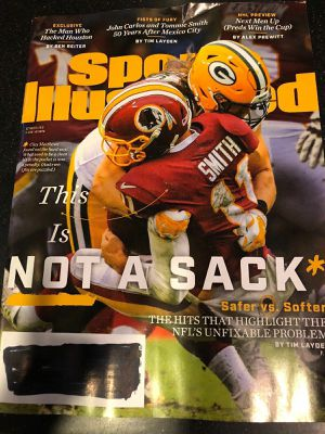 Sports Illustrated Oct 8 2018 magazine for Sale in Madison Heights, VA