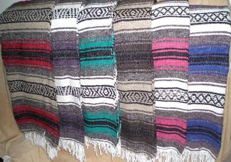 Mexican blanket for Sale in San Antonio c21e60008c0d