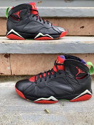 "Photo Air Jordan 7 Retro ""Marvin the Martian"" size 9.5"