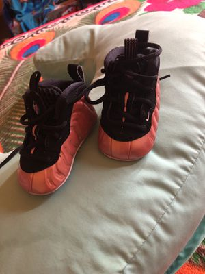0ee646c2dd4 Rose   black nike foamposite size 2c like new used couple of times asking  for 30