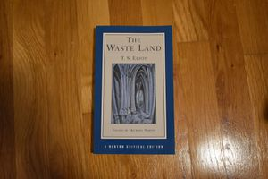 T.S. Eliot The Waste Land - Norton Critical Edition for Sale in New York, NY