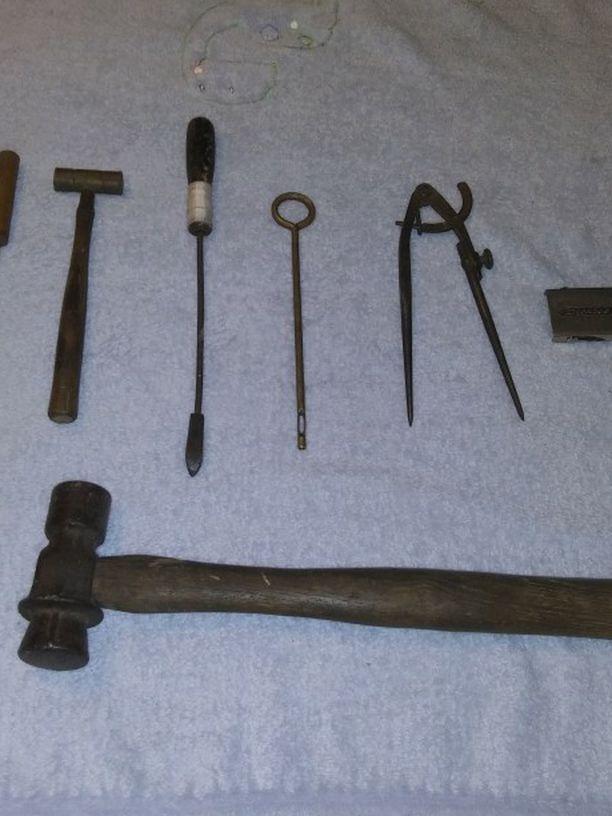 Asorted Antique Tools