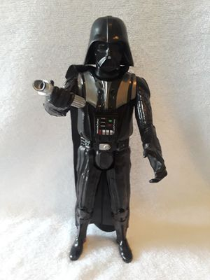 Darth Vader Action Figure Hasbro b3909 Revenge of the Sith for Sale in Houston, TX