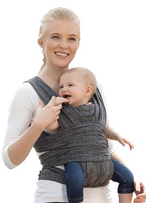 Photo Boppy ComfyFit Baby Carrier, Heathered Gray