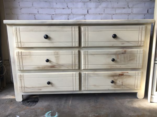 Distressed Dresser Bookcase Combo For Sale In Santa Ana CA