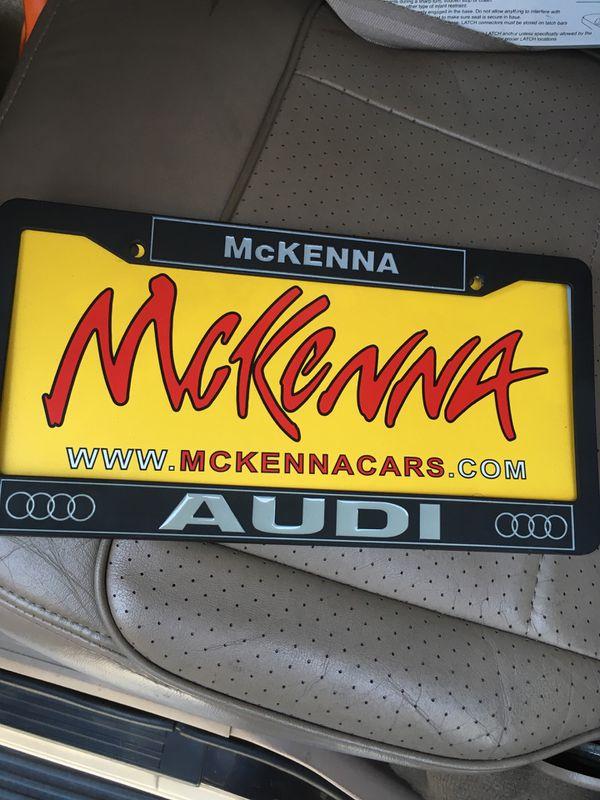 Dealer Plates General In Los Angeles CA OfferUp - Mckenna audi