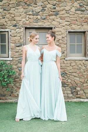 Joanna august ceremy kathy long bridesmaid dress in dreamweaver.new for Sale in Arlington, VA