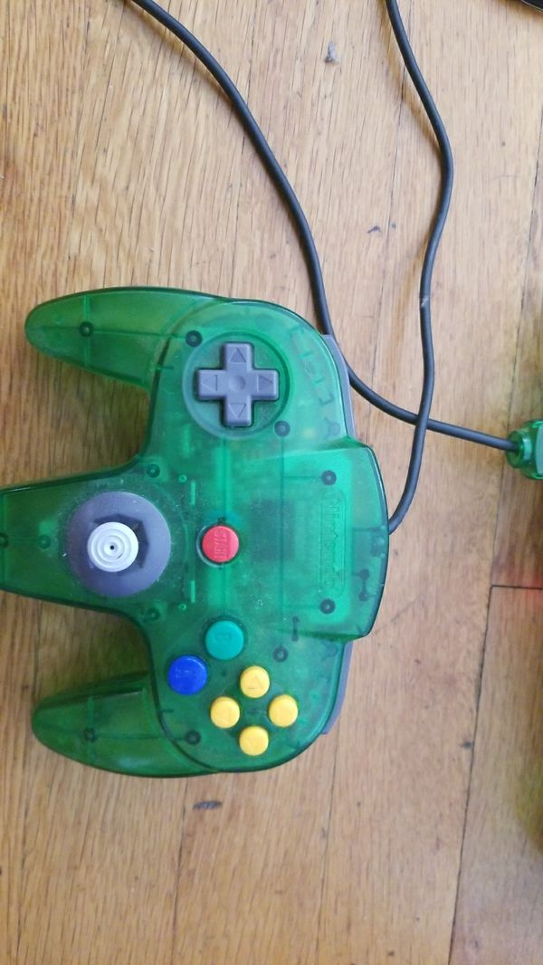 jungle green n64 and reg n64 for Sale in Providence, RI - OfferUp
