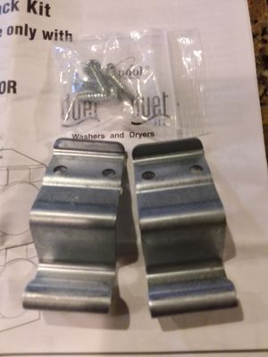Stacking kit for Kenmore Elite or Whirlpool Duet front load washer/dryer for Sale in Houston, TX