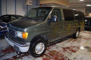 147d7b6252 2003 Ford E-Series Wagon E-350 SD XLT 3dr Extended Passenger Van for