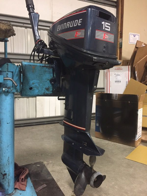 Evinrude 15 Hp >> 1991 Evinrude 15 Hp For Sale In Spokane Wa Offerup