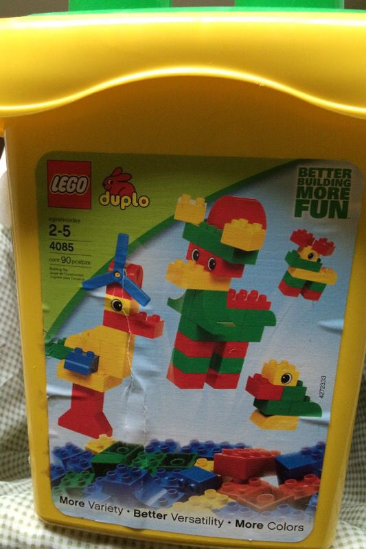 Lego Duplo Yellow Bucket 4085 Extra For Sale In Bothell Wa Offerup