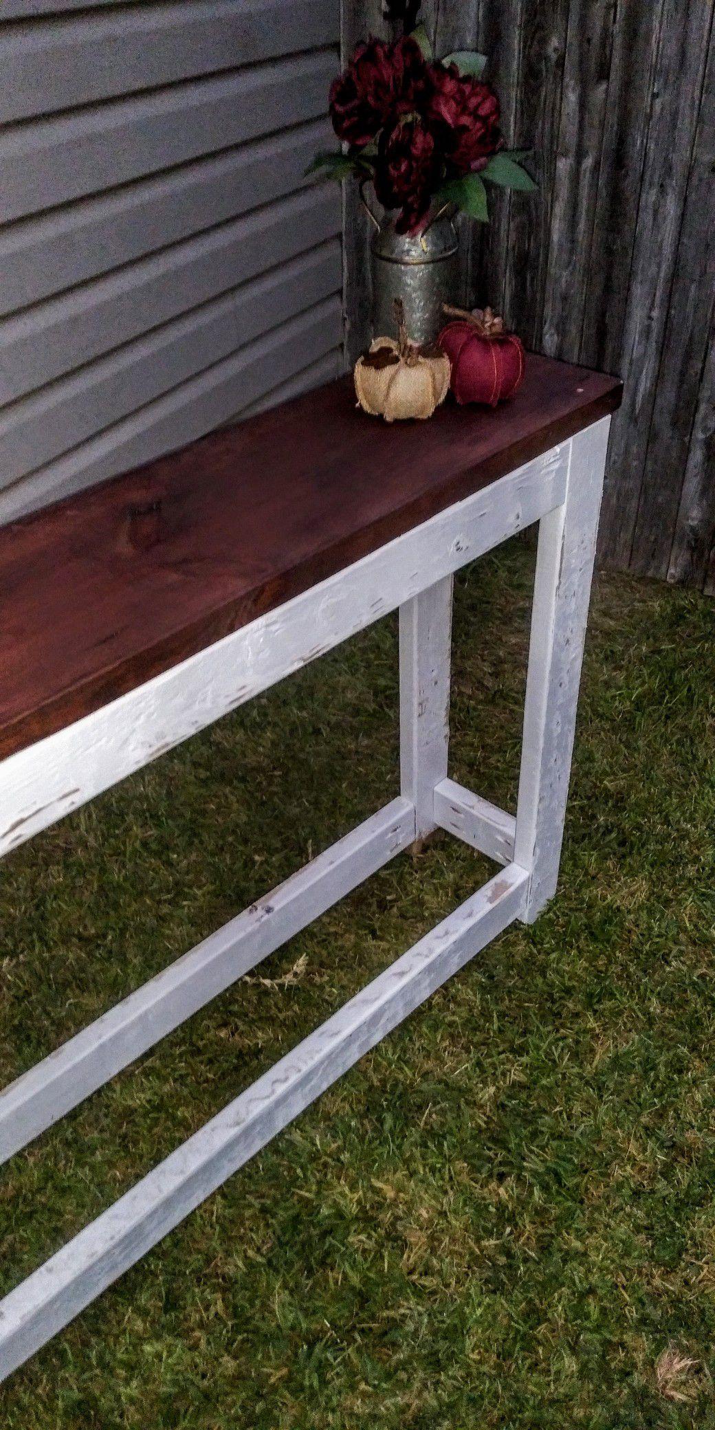 Farm style Entrance table