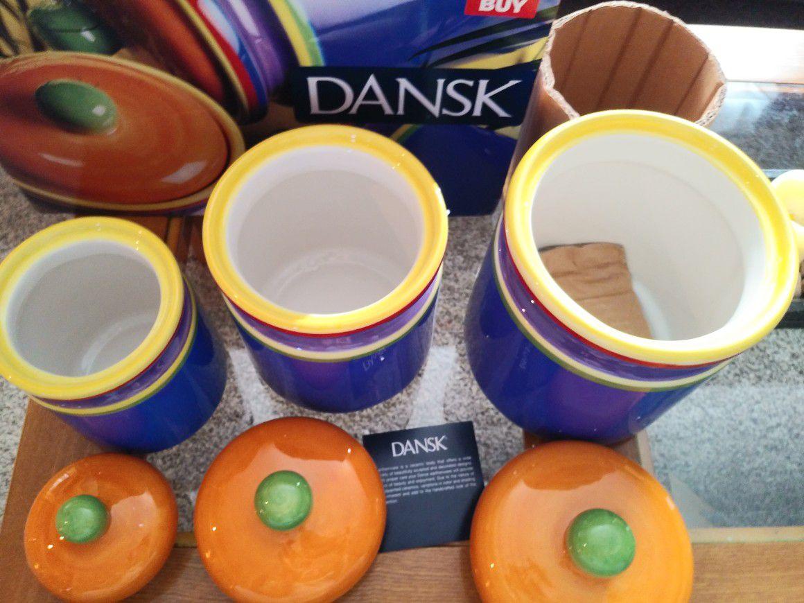 Dansk cannister set new