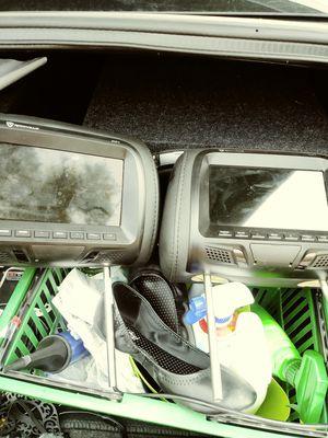 Headrest tvs and visor tvs for Sale in Denver, CO