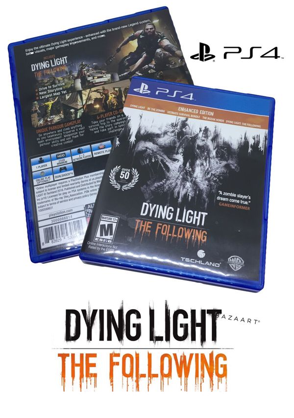 Dying Light the following PS4 for Sale in Bingham Canyon, UT - OfferUp