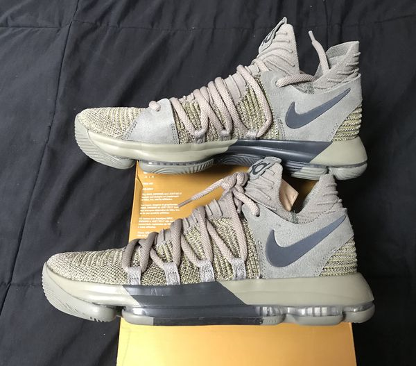 4859d58c87a Nike Zoom KD 10 Veterans Day mens size 10.5 Basketball Shoes NEW DS ...