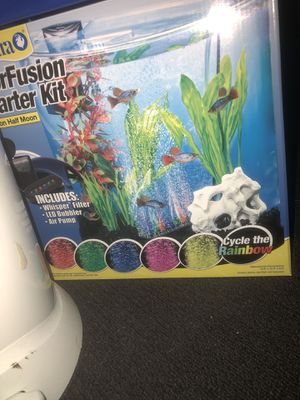 Brand new 3 gallon half moon fish tank for Sale in Silver Spring, MD