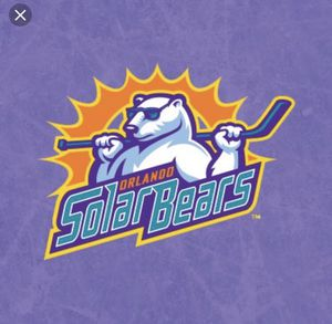 Lower bowl solar bear opening night tickets section 103 for Sale in Windermere, FL