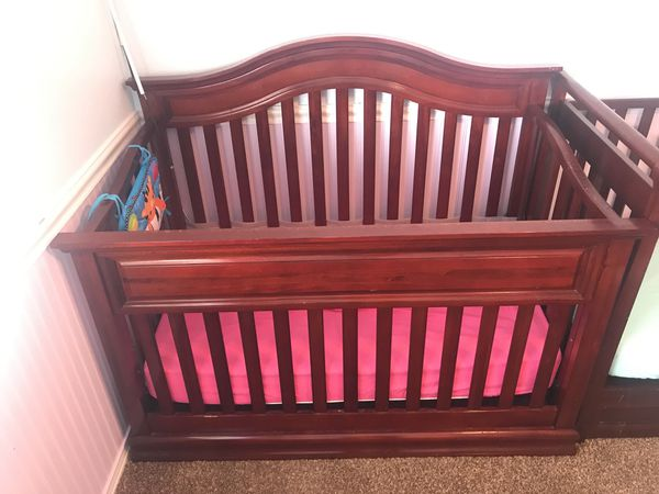Baby Crib Cherry Wood For Sale In Chula Vista Ca Offerup