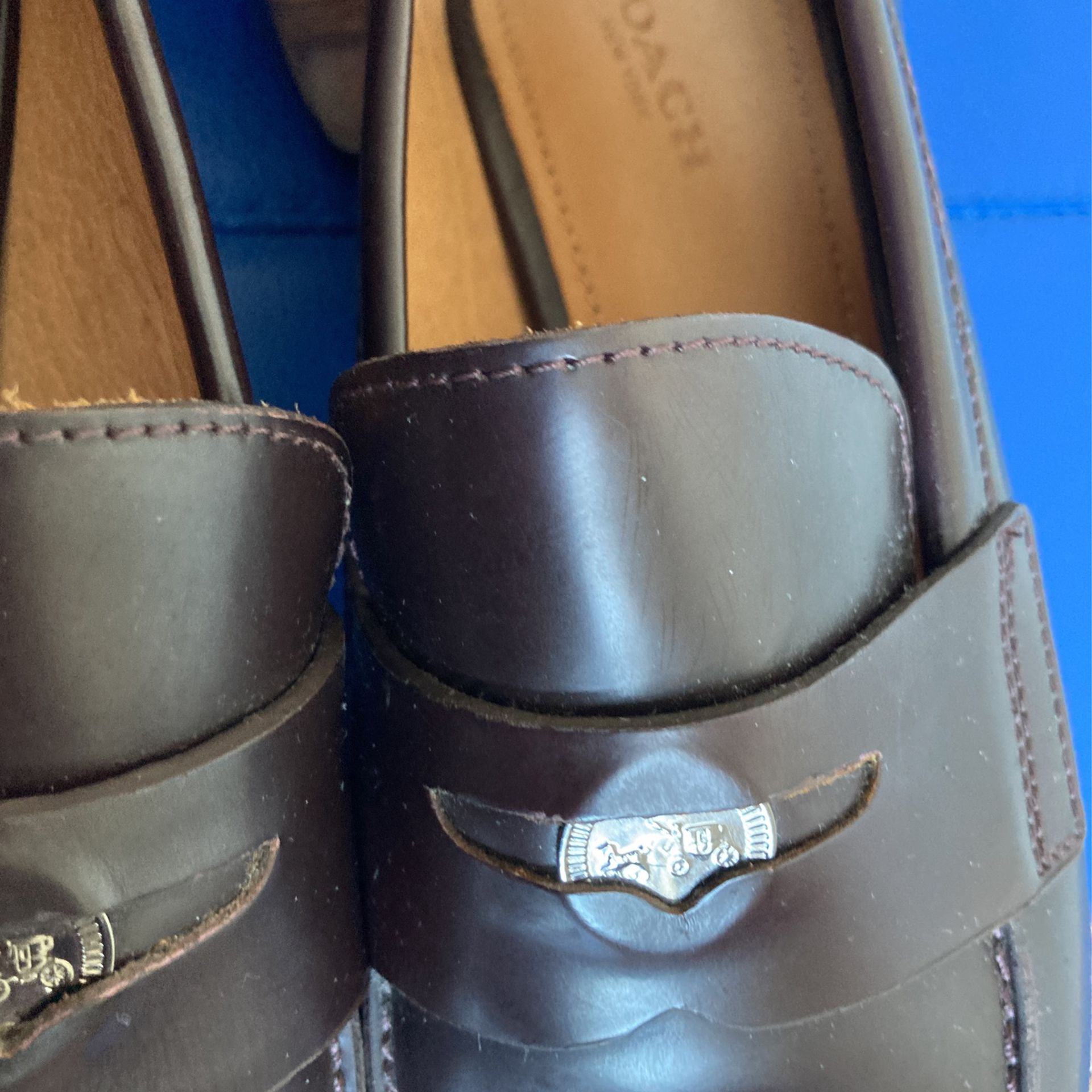 Women's Coach Loafers 8.5 B/Brown-NEW