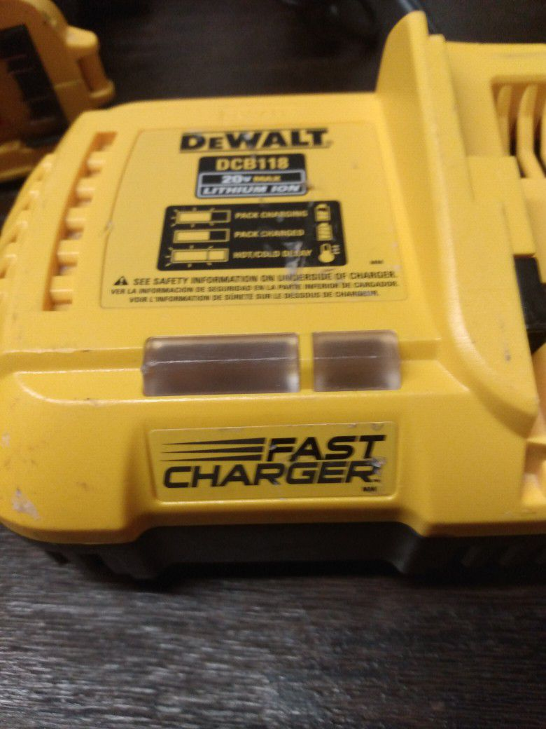Set Of Dewalt Brushless Impact And Driver
