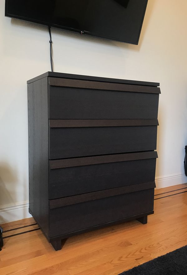 Ikea Malm 4 Drawer Dresser W Soft Close Drawers For In