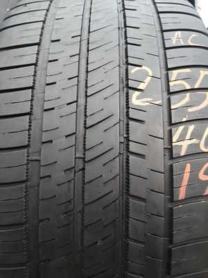255/40-19 #2 Tires for Sale in Alexandria, VA