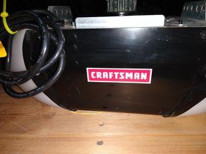 Photo Garage opener Motor Craftsman ½ HP Chain Drive Garage Door Opener with 3 Multi-Function Remote $100 pick