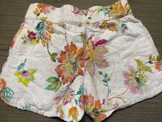 Beautiful Floral Girl's Gap Shorts Thumbnail
