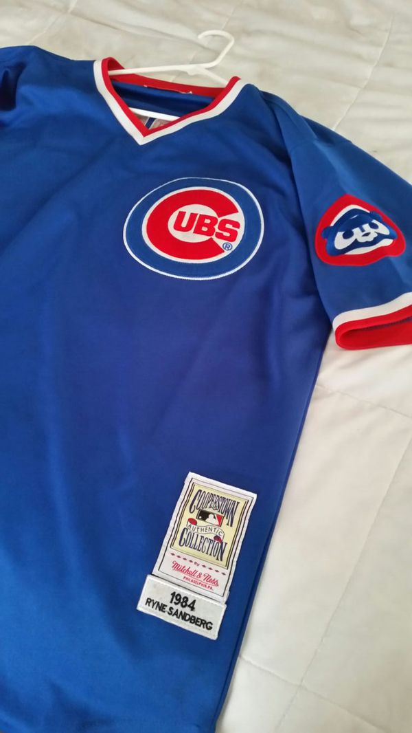 check out ee283 34b5e Chicago Cubs Ryne Sandberg Jersey for Sale in Lake in the Hills, IL -  OfferUp