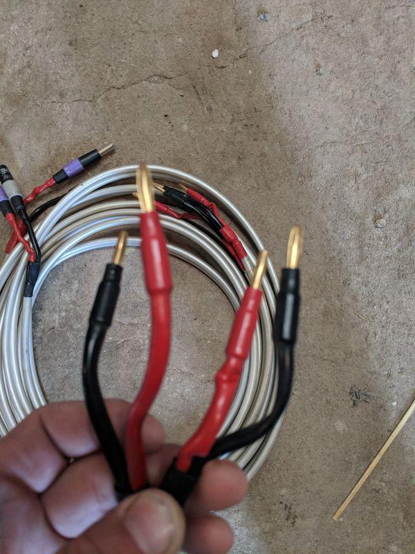 Wireworld Solstice 3 speaker wires (Audio Equipment) in Sterling ...