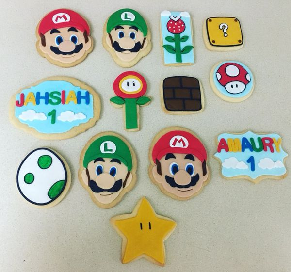 Mario Bross Decorated Cookies For Sale In Miami Fl Offerup