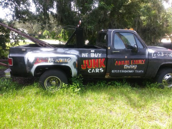 1985 gmc tow truck for Sale in Tampa, FL - OfferUp