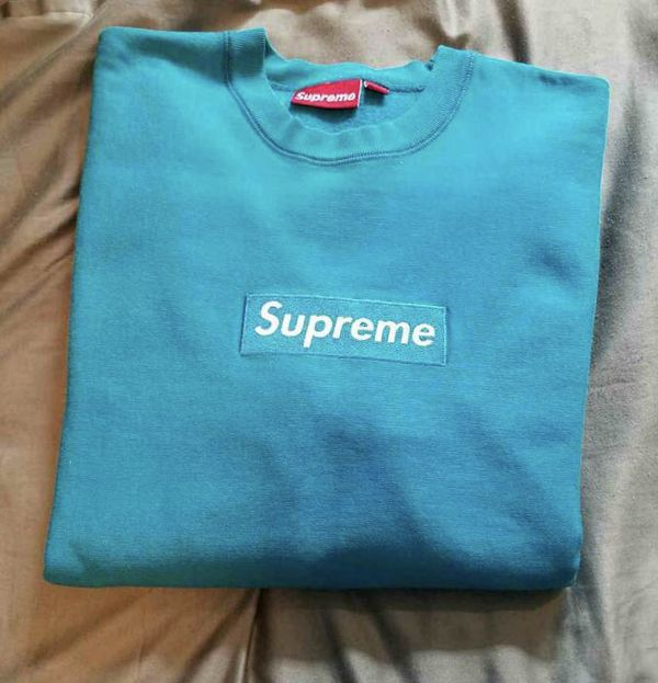 50bab15bad4a Supreme TEAL BOX LOGO BABY BLUE RARE BAPE A BATHING APE SHARK HOODIE BBC. Los  Angeles ...