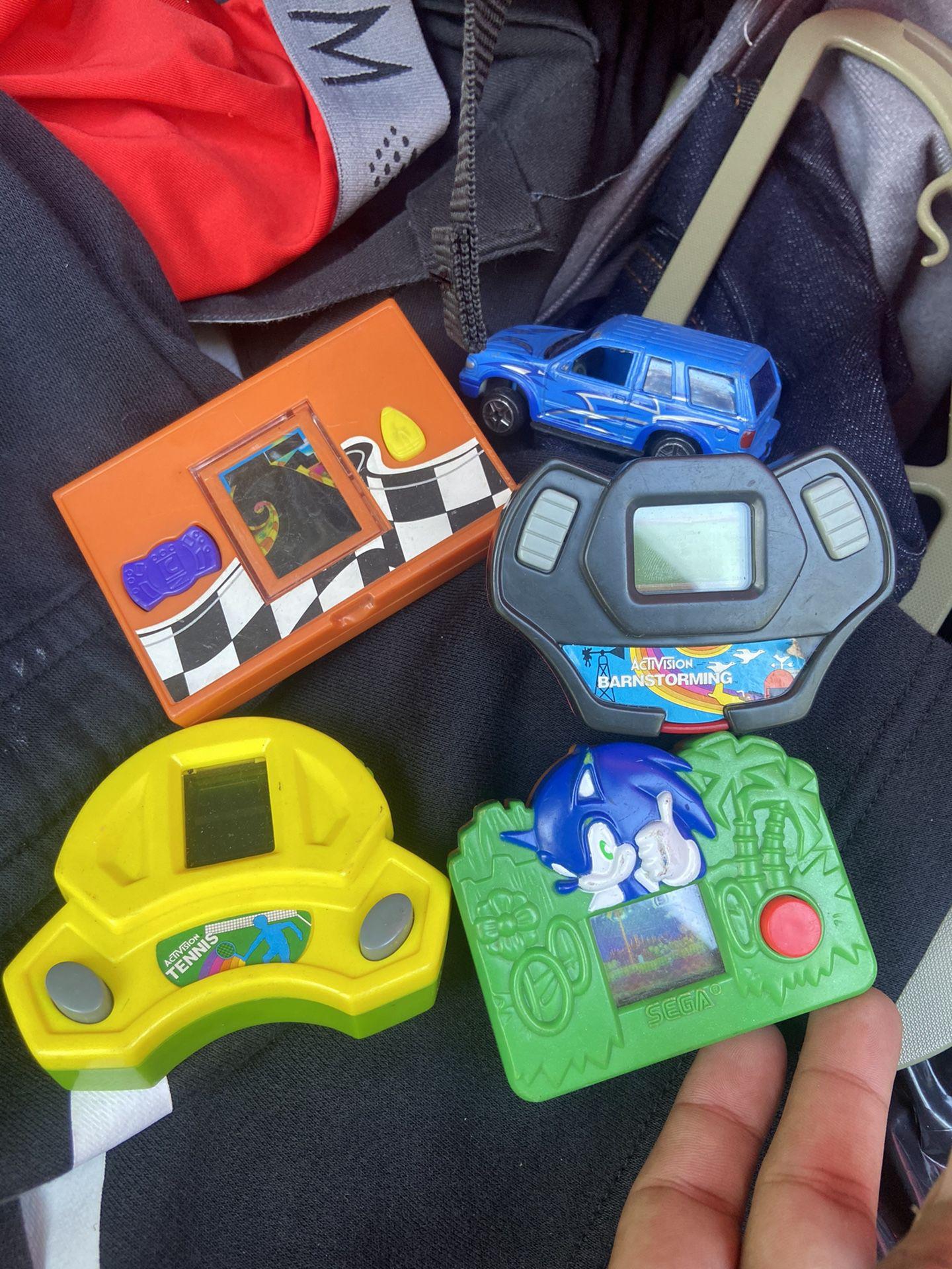 SEGA/ Activision/ Games / Toys