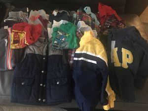 Fall/winter clothing size 4t for boys for Sale in Lorton, VA