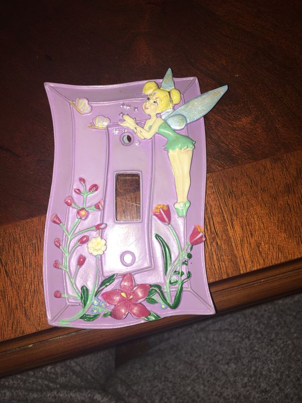 Tinkerbell Light Switch Frame (Household) in Washington, DC - OfferUp