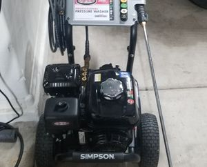 New 3400psi Simpson professional pressure washer for Sale in Laveen Village, AZ