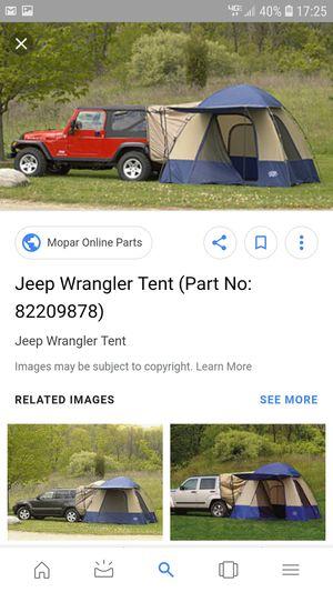 2010 Mopar Jeep Wrangler tent for Sale in Ashburn, VA