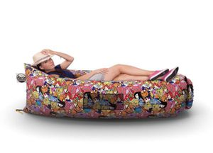 Inflatable Lounger Chair Air Couch - Outdoor Hangout Lazy Bag, Large Hammock Bed, Floating Self Inflating Sofa for Pool, Camping, Beach for Sale in Boynton Beach, FL