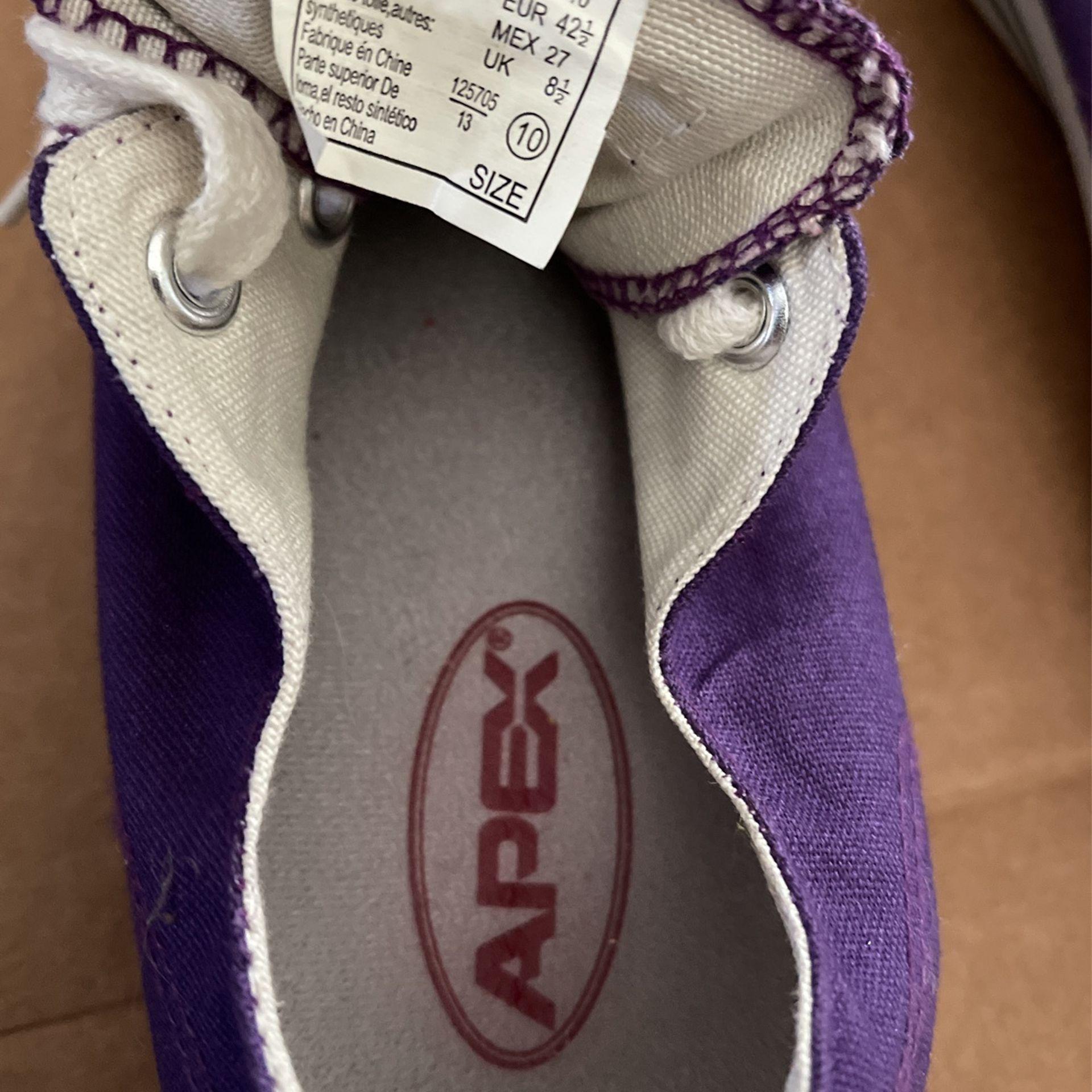 Purple Tennis Shoes Size 9