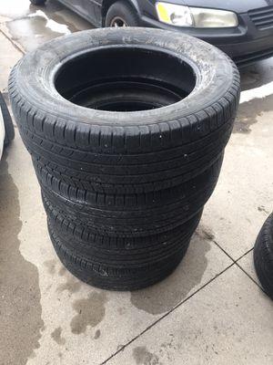 Photo Michelin green 18 inch tires 7.5/10 tread