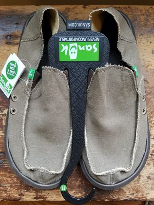 Used, NEW with tags Sanuk Vagabond Mens size 11 for sale  US