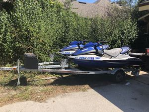 SeaDoo Wave Runners. With Double trailer for Sale in Orlando, FL