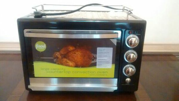 Food Network Large Capacity Countertop Convection Oven